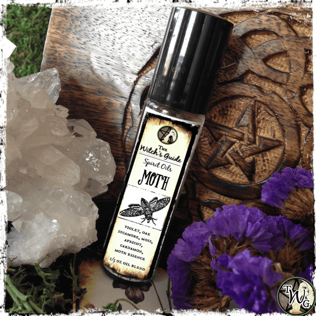 Moth Spirit Oil | Faith, Authenticity
