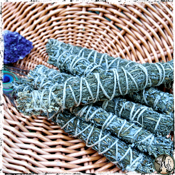 Mugwort Herbal Smudge Bundles, Spirit Communication, Crossing the Hedge, The Witch's Guide