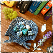Owl Totem Decor Dish, The Witch's Guide