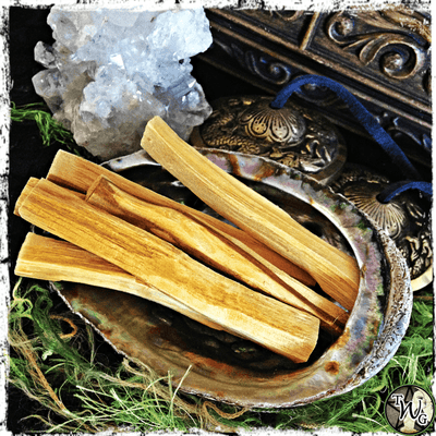 Palo Santo Herbal Smudge Sticks, Pack of 6 | Aura Cleansing, Protection