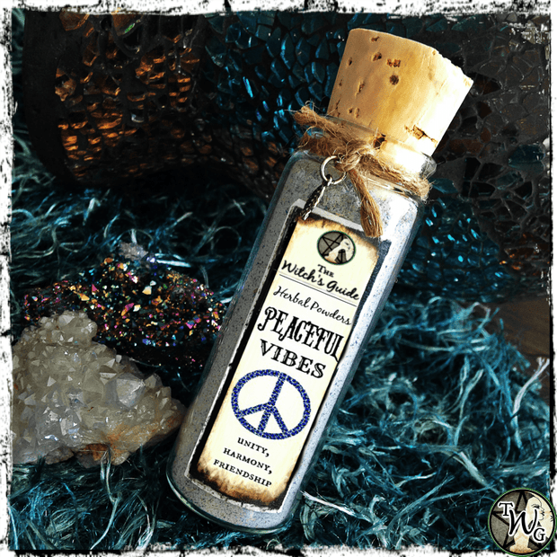 PEACEFUL VIBES Herbal Spell Powder | Harmony