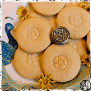 Pentacle Cookie Stamp, Embosser, Kitchen Witch Tool, The Witch's Guide
