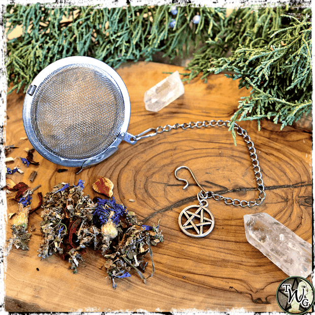 Pentacle Tea Ball Strainer, The Witch's Guide