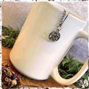 Witch's Tea Ball Strainer, Pentacle, The Witch's Guide
