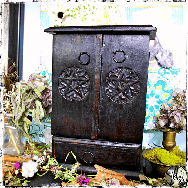 Pentacle Cupboard for the Altar, The Witch's Guide