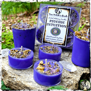 PSYCHIC INTUITION | Herbal Alchemy Spell Candles