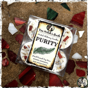PURITY | Herbal Alchemy Spell Candles | Spiritual Cleansing