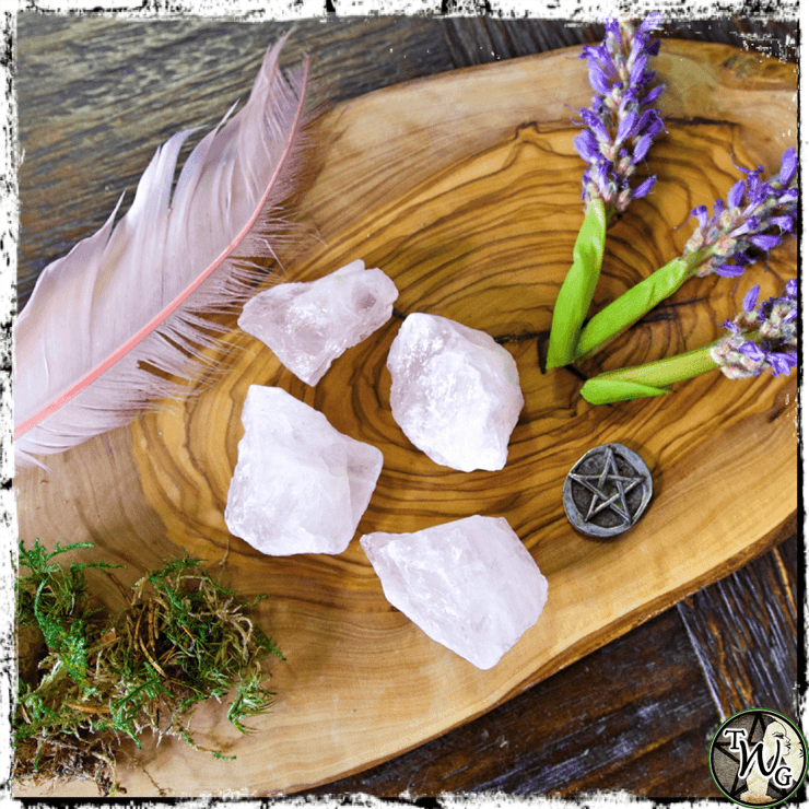 ROSE QUARTZ Crystal, Raw | Love, Emotional Healing
