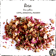 Dried Roses for Love, Passion, Romance, The Witch's Guide