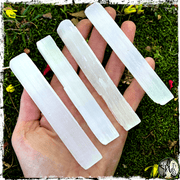 Selenite Crystal Wand, Wands for Witches, The Witch's Guide