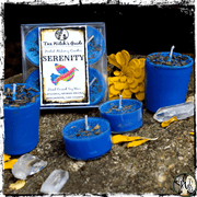 Serenity Candles, Candles for Peace, The Witch's Guide