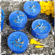 Serenity Spell Candles, Peace Tealights, The Witch's Guide