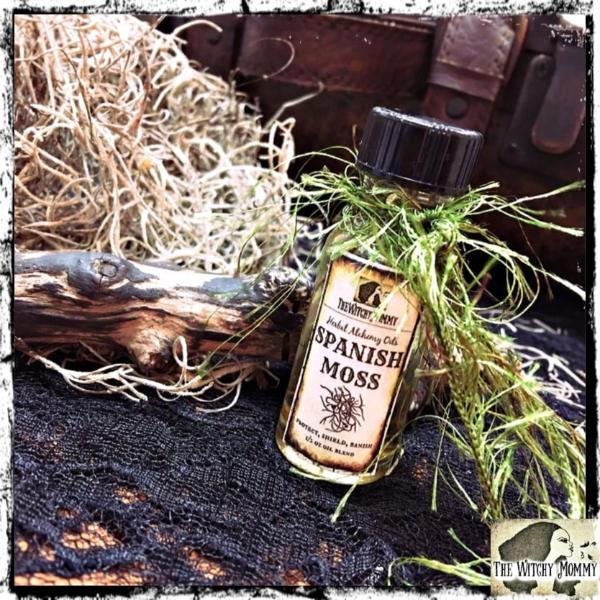 Spanish Moss Herbal Alchemy Oil, The Witchy Mommy™