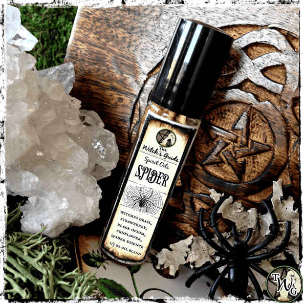 Spider Spirit Oil | Creativity, Inspiration