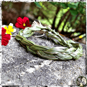 Sweetgrass Braid, Witchcraft Herbs, The Witch's Guide