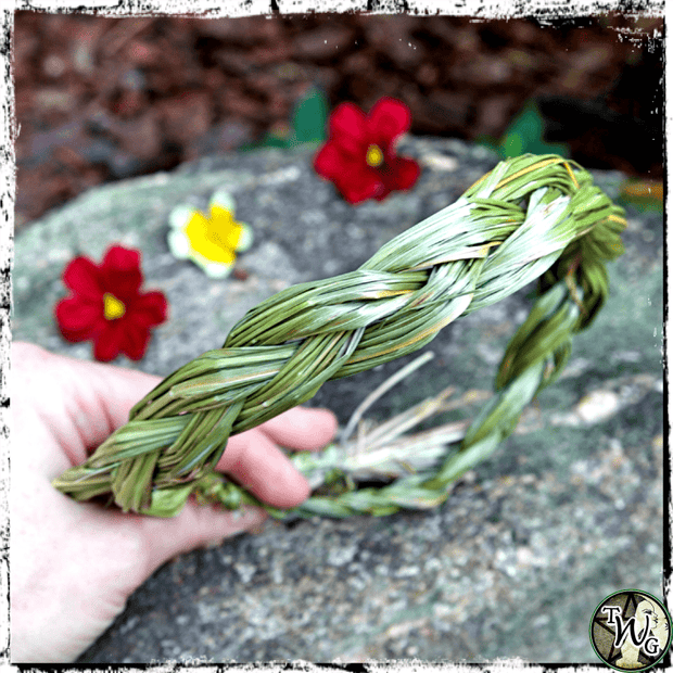 Sweetgrass Braids, Smudging Ceremony, The Witch's Guide