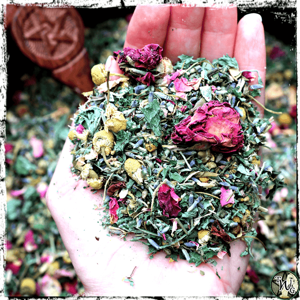 Tranquility tea for peace, relaxation, meditation