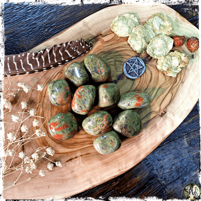 UNAKITE Crystal, Tumbled | Connection, Mindfulness