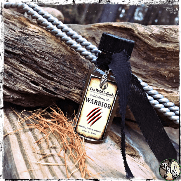 WARRIOR Herbal Alchemy Oil | Defense, Protection
