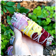 Rose & White Sage Smudge Bundle | Raise the Vibration