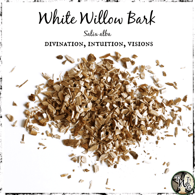 White Willow Bark for Divination, Intuition, Visions