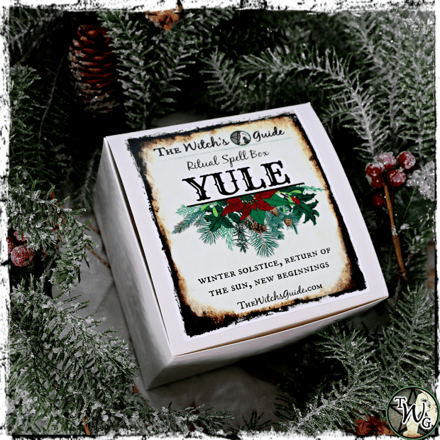 Yule Ritual Spell Box | Return of the Sun, Peace, New Beginnings