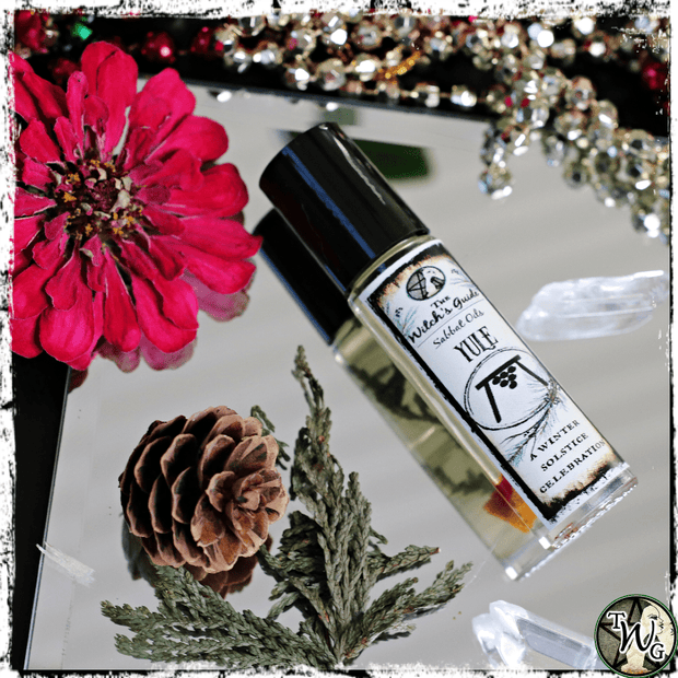 Yule Ritual Sabbat Oil, Winter Solstice Celebration