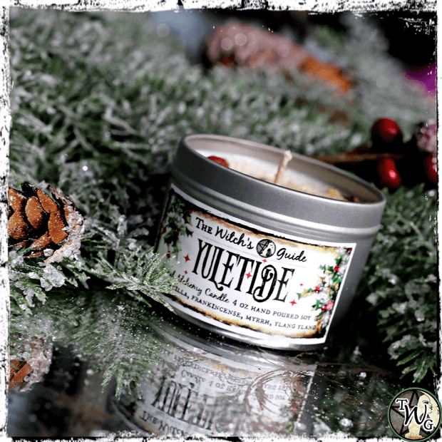 Yuletide | Herbal Alchemy Spell Candles | Winter Solstice