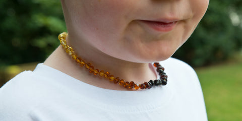 amber necklace length