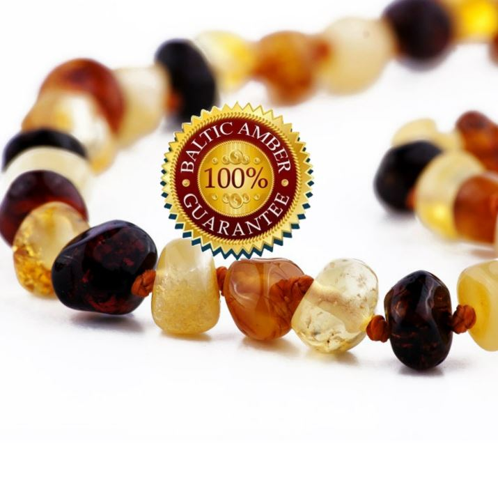 Love amber teething necklace beads