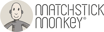 matchstick monkey baby teeting