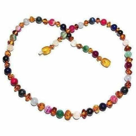 Adult Aida Honey Baltic Amber Gemstones Necklace Jewellery / Necklaces / Beaded Necklaces Love Amber X