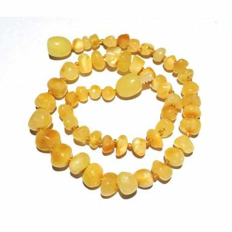 Adult Ambrosia Polished Butterscotch Baltic Amber Anklet Jewellery / Body Jewellery / Anklets Love Amber X