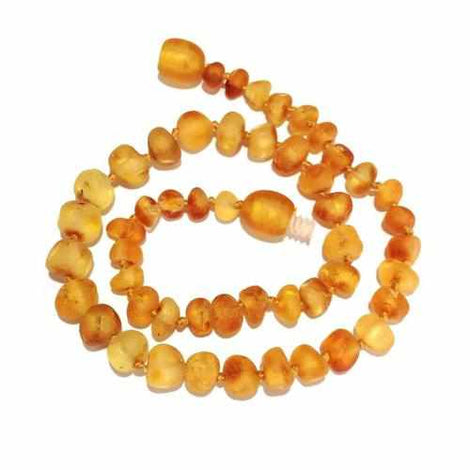 Adult Bees Knees Raw Honey Baltic Amber Anklet Jewellery / Body Jewellery / Anklets Love Amber X