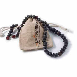 Adult Cherryaid Raw Dark Cherry Baltic Amber Necklace Love Amber X