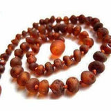 Adult Cocoa Raw Cognac Baltic Amber Necklace Jewellery / Necklaces / Beaded Necklaces Love Amber X