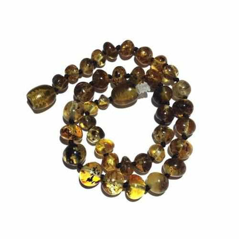 Adult Earthy Polished Rare Green Baltic Amber Anklet Jewellery / Body Jewellery / Anklets Love Amber X