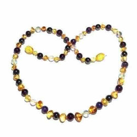 Adult Eirene Honey Baltic Amber Gemstones Necklace Jewellery / Necklaces / Beaded Necklaces Love Amber X