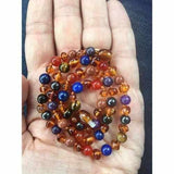 Adult Elysium Honey Baltic Amber Gemstones Necklace Jewellery / Necklaces / Beaded Necklaces Love Amber X