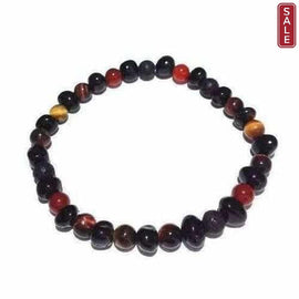 Adult Eros Lava Rock Red Tigers Eye Carnelian Cherry Baltic Amber Bracelet Jewellery / Bracelets / Beaded Bracelets Love Amber X