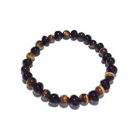 Adult Horus Gemstone and Cherry Baltic Amber Stretch Bracelet Jewellery / Bracelets / Beaded Bracelets Love Amber X