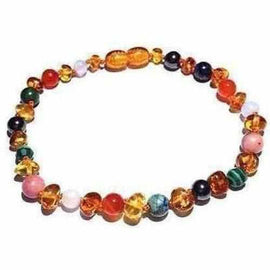 Adult Lucina Honey Baltic Amber Pregnancy Gemstones Bracelet Jewellery / Bracelets / Beaded Bracelets Love Amber X