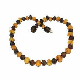 Adult Pippin Raw Green and Honey Baltic Amber Anklet Jewellery / Body Jewellery / Anklets Love Amber X