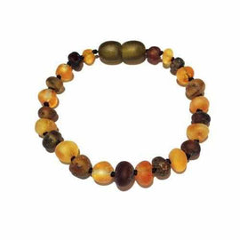 Adult Pippin Raw Green and Honey Baltic Amber Bracelet Jewellery / Bracelets / Beaded Bracelets Love Amber X