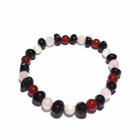 Adult Rhea Gemstones Cherry Baltic Amber Bracelet Love Amber X