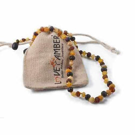Adult Shingle Raw Mixed Baltic Amber Necklace Jewellery / Necklaces / Beaded Necklaces Love Amber X