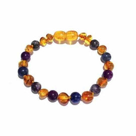 Be Awesome Gemstones Honey Baltic Amber Childs Anklet Bracelet Autism Anglia Awareness