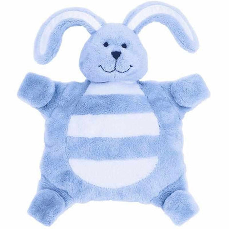 Blue Bunny Rabbit Sleepytot Baby Comforter Toy Soother Holder Nursery Sleep Aids Sleepytot