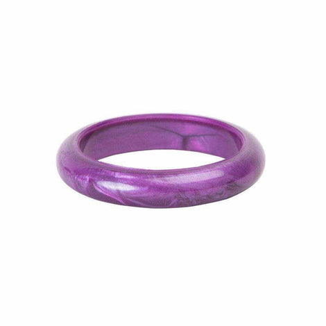 Chewigem Bubba Sensory Chew Bangle - Chewy Toy for Autism and ADHD - Purple Love Amber X Ltd Baltic Amber Jewellery and Silicone Teething Necklaces