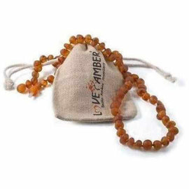 Child Cocoa Raw Cognac Baltic Amber Necklace Jewellery / Necklaces / Beaded Necklaces Love Amber X
